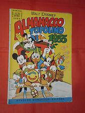 ALBO D'ORO speciale ALMANACCO TOPOLINO 1955-n° 51 L-DEL 1954-completo dei giochi