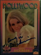 1991 ANGIE DICKINSON HOLLYWOOD WALK OF FAME ORIGINAL AUTOGRAPH AUTO POLICE WOMAN