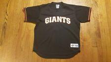 San Francisco Giants Batting Jersey XL Majestic Diamond Collection Vintage #5