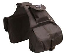 WESTERN SADDLE HORSE BROWN NYLON HORSE SADDLE BAG OR MOTORCYCLE SADDLE BAGS