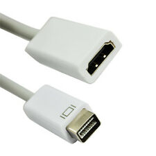 Mini DVI Male to HDMI Female Video Adapter Cable AD-MDVI-HDMI New