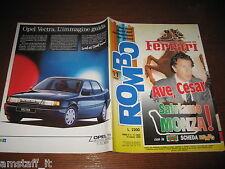 RIVISTA ROMBO 1989/11=CESARE FIORIO=LORIS REGGIANI/LUCA CADALORA=