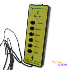 Fence Voltage Tester Farm Fencing Poly Wire Tape Rope Electric Solar Energiser