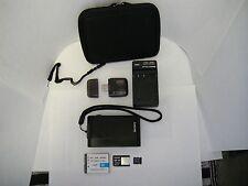 Sony Cyber-shot DSC-T900 12.1 MP Digital Camera Touch Screen - Black