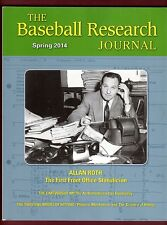 2014 Spring SABR Baseball Research Journal #43-1 (126 pages) ALLAN ROTH cover