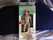 """Steve Irwin collectable """"The Crocodile Hunter"""" Talking Doll action figure.."""