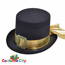 Adulti Da Uomo Vittoriano Steampunk Cappello Fancy Dress Party Accessorio Costume