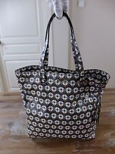 auth MIU MIU floral print madras leather shopper tote bag - NWT
