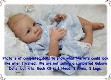 REBORN DOLL KIT, SOPHIE BY LINDE SCHERER, SOFT LIGHT SKIN VINYL DOLL KIT