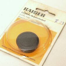 Kaiser 23mm Push Fit Lens Cap - German Made - New / Old Stock