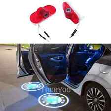 2 x LED Car Door Courtesy Laser Projector Logo Light For SKODA Octavia 2004-2008