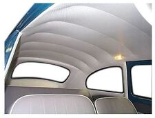 Volkswagen beetle VW bug headliner Off White vinyl 1968-1977 + Super Beetle