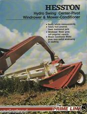 Farm Equipment Brochure - Hesston - 1014 1010 - Windrower Mower Cond (F1351)