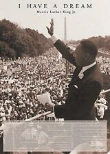 "MARTIN LUTHER KING POSTER ""I HAVE A DREAM"""