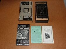 Jiffy Kodak Six-20 Camera, Fantastic Condition, works well, with box, manuals