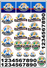 1/64, 1/87 - DECALS FOR HOT WHEELS, MATCHBOX, SLOT CAR: ST. PAULI GIRL BEER