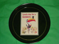 """Lovely Day For A Guinness Toucan 12"""" Tray Home Bar Pub Restaurant BBQ Party"""