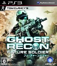 Used PS3 Ghost Recon: Future Soldier PLAYSTATION 3 SONY JAPAN JAPANESE IMPORT