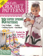 McCall's Crochet Patterns Magazine April 1993 18 Spring Patterns