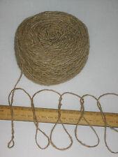 1000g 1kg 100% pura lana per lavoro a maglia filato Donegal Tweed BEIGE si prega di leggere attentamente
