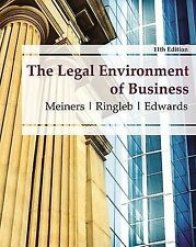 The Legal Environment of Business by Al H. Ringleb, Frances L. Edwards and...