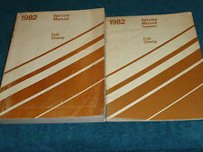 1982 DODGE COLT / PLYMOUTH CHAMP / SHOP MANUAL SET / SHOP BOOK SET / ORIGINALS