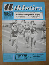 ATHLETICS WEEKLY SEPTEMBER 23rd 1978 CLEAN SWEEP FOR SOVIET WOMEN'S 800m PRAGUE