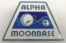 SPACE 1999 - Alpha Moonbase - Gerry Anderson TV Series - UK Enamel Pin