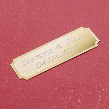 Türschild Namensschild Klingel Namen Tür Geschenk Liebes Spruch Schild + Gravur