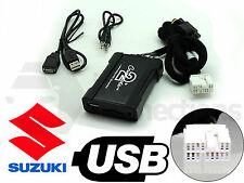 Suzuki Swift USB adapter interface CTASZUSB001 car AUX SD input MP3 3.5mm jack