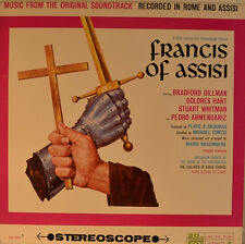 "OST - SOUNDTRACK - FRANCIS OF ASSISI - MARIO NASCIMBENE 12"" LP (L870)"