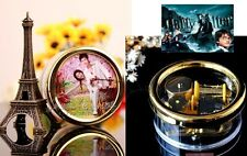 Circle Wind Up with Photo Frame Music Box :Harry Potter HedwigsTheme Prologue