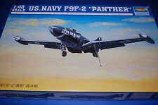 """Trumpeter 02832 - US Navy F9F-2 """"Panther""""  scala 1/48"""