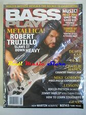 BASS PLAYER Magazine SEALED Nov 2008 Metallica Robert Trujillo  Haslip NO cd dvd