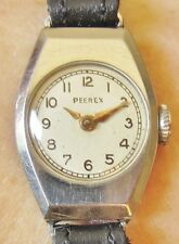Vintage Swiss Ladies Stainless Steel Peerex Mechanical Watch for Sale