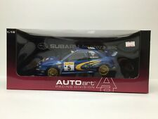 AUTOArt 1999 Subaru Impreza WRC Racing Edition, Burns - Reid 1/18 Diecast Scale