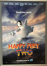 Cinema Poster: HAPPY FEET TWO 2011 (One Sheet Adv) Elijah Wood Robin Williams