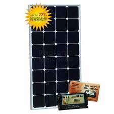 100W (Back-Contact Cells) dual solar charging kit with 10A dual controller