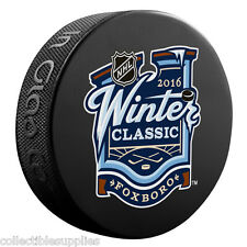 2016 Winter Classic NHL Sherwood Souvenir Puck / Canadiens vs. Bruins