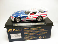 Slot Scalextric Fly Car Model Dodge Viper GTRS Petit le Mans 2000 A88 1/32