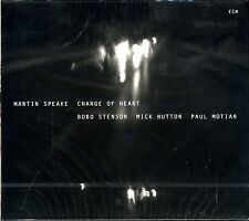 Martin Speake Change of Heart CD Bobo Stenson Hutton Motian