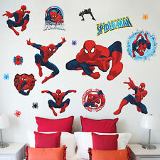 Spider-man Kids Room Decor Wall Stickers Home Decals Nursery Art Mural Removable