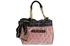 Juicy Couture Day Dreamer Quilted Circles Tote Handbag in Tattered NWT