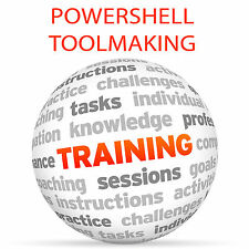 POWERSHELL Toolmaking - Video Training Tutorial DVD