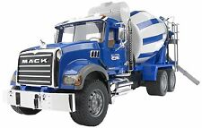 Bruder Toys MACK Granite Cement Mixer Truck 02814 Kids Play NEW