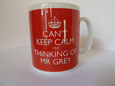 Brand New Can't Keep Calm I'm Thinking Of Mr Grey Mug Fifty 50 Shades Of Grey