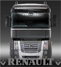 Renault Truck  sun visor sticker/decal for cab lightbox or visor exterior fit
