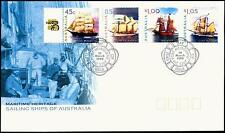 Australia 1999 First Day Cover FDC -Maritime Heritage Sailing Ships of Australia