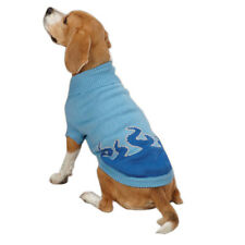 NEW Sizzling Blue Sweater Size XS Dog Clothes Warm Casual Canine
