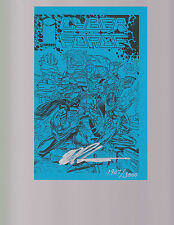 CYBERFORCE #1 -- Blue Ashcan Edition -- Signed / Numbered -- Marc Silvestri